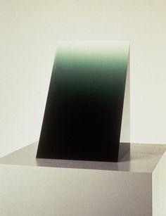 Green Widget, 1969, Cast Polyester Resin, 14 1/2 x 8 3/4 #peter #alexander #art