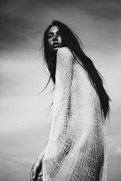 kesler tran #2 // #portrait #woman #blackwhite