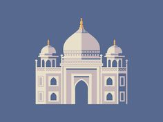 Taj Mahal #illustration