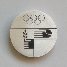 Otl Aicher 1972 Munich Olympics - Medals