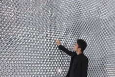 Swarovski stand by Tokujin Yoshioka, Basel   Switzerland exhibit design