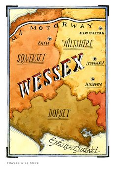 Maps wessex.