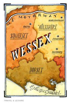 Maps wessex. #john #hendrix
