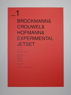 All sizes | brockmann | Flickr - Photo Sharing! #grid #helvetica #swiss #poster