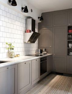 Ilse Crawford style Stockholm apt for sale emmas designblogg #interior #design #decor #kitchen #deco #decoration