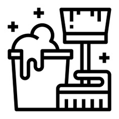 See more icon inspiration related to clean, cleaner, broom, wash, brush, bucket, washing, Tools and utensils, miscellaneous and brushes on Flaticon.