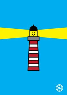 CMYKern #prints #lighthouse #smile #monk #nathan #nautical