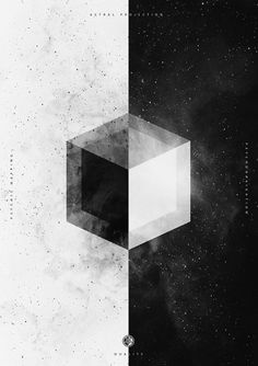 B&W on the Behance Network #black and white #space #stars #cosmos #buenos aires #nicolas lalli #astral
