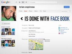 Dribbble - Gplus profile by Brian Espinosa #facebook #googleplus #google