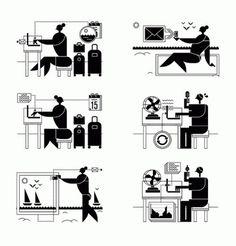 FrancescoMuzzi_1.gif 600×626 pixels #character #white #black #human #illustration #muzzi #and #drawing #francesco