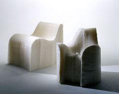 creative paper chair design