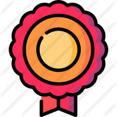 See more icon inspiration related to medal, ui, sports and competition, certification, quality, winner, award and ribbon on Flaticon.