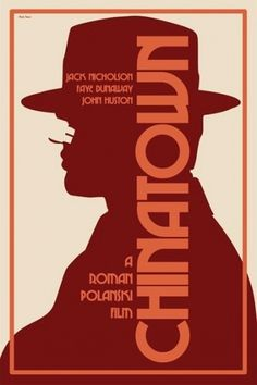 Film Noir | Chinatown (1974) | NoirWHALE #movie #chinatown #graphic #poster #film