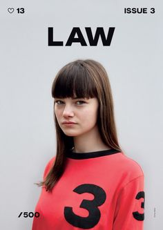 LYDIA GARNETT | LAW MAGAZINE COVER #design #book #clean #type #layout #law