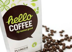 Hello Coffee The Dieline #packaging #coffee
