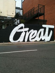 GREAT #great