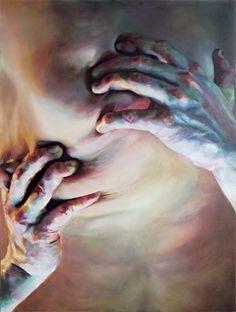 Paintings by Cara Thayer & Louie Van Patten | PICDIT