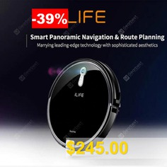 ILIFE #Best #Wet #and #Dry #Robot #Vacuum #Cleaner #Camera #Navigation #Route #planing #Various #Cleaning #modes