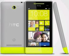 HTC Windows Phone 8S Smartphone Grey/Yellow (Unlocked) #cell #phone #windows #htc