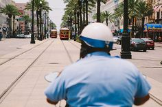New Orleans on Behance #nola #orleans #trolly #street #garden #district #vineshk #new