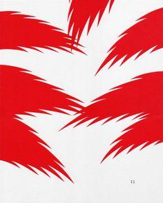 Ryan De La Hoz | PICDIT #paper #design #red #art