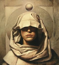 Fantasy Paintings by John Jude Palencar I Art Sponge #woman #fiction #jude #palencar #portrait #john #painting #science