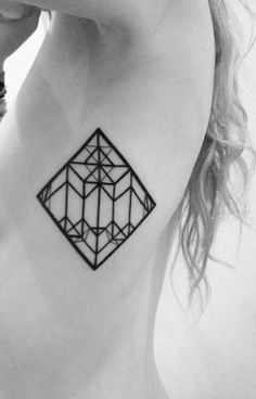 matt matik #tattoo #geometry #body #lines