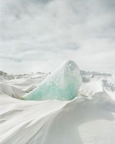 Arrangements : Clayton Cotterell #ice #photography #white #snow