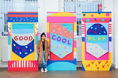Colourful Design - Paul Plews: She Lights Up the Light