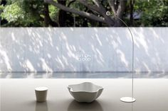 Sit On Cloud's Little Star, an LED-projected light show table and stool set. #furniture