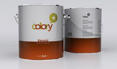 Tintas Colory - TheDieline.com - Package Design Blog #packaging #paint