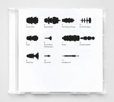 Music CD Labeling System | Shiro to Kuro #music #product #design #graphic