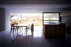 House in Nagoya by SUPPOSE design office | Yatzer™ #ceilings #interiors #architecture #glazing #light