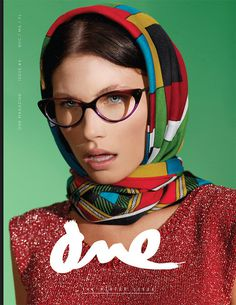 ONE Magazine Issue No. 4 #fashion #cover #print #magazine