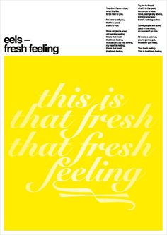 eloy kruijntjens typo/graphic posters #print #design #typography #poster #layout #graphic