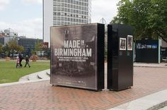 Onestep Creative - The Blog of Josh McDonald » Made in Birmingham #exhibition #display #birmingham #typography