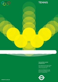 Alan Clarke: Olympic posters proposal (Monoscope)