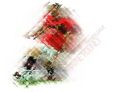 Wayne Rooney Mosaic #neo #geometry #design #tsevis #soccer #cubism #colorful #mosaic #sports