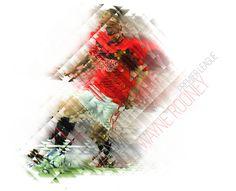 Wayne Rooney Mosaic