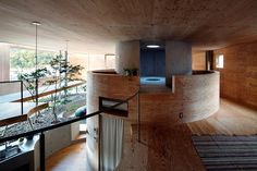 UID architects: pit house in okayama, japan #house