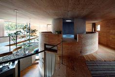 UID architects: pit house in okayama, japan #house