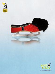 Loumidis Frio - www.s-a.gr #loumidis #greek #print #design #graphic #cold #frio #illustration #skate #ad #cofee #ice #greece #athens