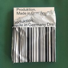 "designeverywhere: ""Produktion Made in Germany Drei """