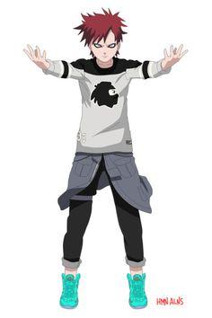 Naruto Gets the Rocksmith Treatment via Human Aliens   Hypebeast #fashion #naruto #anime