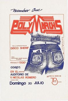 Jaime Ruelas's Mexico City sound system fliers #flyer #poster #music