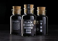 Office | Work | 826 Valencia Pirate Supply Store / Creating stuff for pirates #dye #bottle #packaging #black #glass #bucaneer