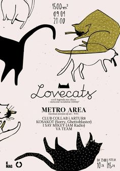 meow | ART #cats #cat #poster