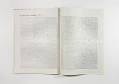 Won Magazine Luke Brown #paragraph #text #justified #full #breaks #layout #magazine #typography