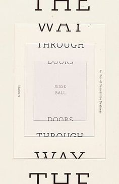 FFFFOUND! | Book Covers - The Way Through Doors (Vintage Contemporaries) #jacket #print #design #book #cover #vintage #contemporaries