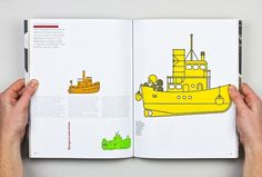 Collate #boats #illustration #design #booklet